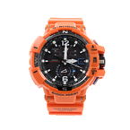 Casio Gravitymaster Men's Watch - 5311 GWA1100R-4ACR - Black Dial - Orange Band