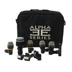 Equation Alpha Series Drum Mic Kit - DMI.104.SLF - DMI.101 - DMI.102S - CMI.103