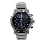 Men's CITIZEN World Time A-T Eco Drive Solar Radio Blue Dial Watch - H820-S104572