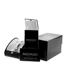 Ladies Movado Museum 84.A1.1836 Stainless Steel Silver Dial Quartz Swiss Watch