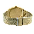 Men's Nixon Time Teller Gold Dial Yellow Gold-Tone 39mm Watch - A045-511