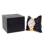 Ladies GUESS Sporty Rose Gold-Tone Stainless Steel Crystals 42mm Watch - U0559L3