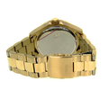 Men's GUESS Gold-Tone Stainless Steel Blue Dial 45mm Watch - U0172G5 - Mint