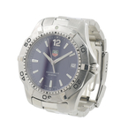Tag Heuer 2000 Aquaracer Stainless Steel Blue Face Diving Watch - WAF1113.BA0801
