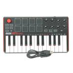 Akai Professional MPK mini MKII - 25-Key Compact Keyboard and Pad Controller