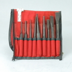 Snap-On Tools 11 Piece Punch & Chisel Set PPC710BK & 6 Piece Set PPCL60BK