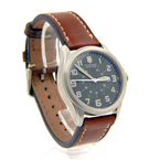 Victorinox Swiss Army Infantry Green Khaki Dial Brown Leather Watch - 241309