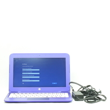 "HP Stream 11-R010NR Laptop/Notebook 11.6"" - 1.6GHz - 2GB RAM - 32GB SSD - Purple"