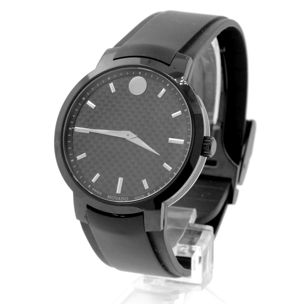 8e274f057b3a Men s Movado Gravity Black Carbon Fiber Dial Rubber Band 42mm Watch -  0606849. 1da95c760776a64c0141e7abfa6334f0. B4a768ae57e311ded449970ad2cf791c