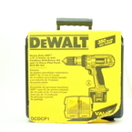 """DeWalt DW980 XPR 12V Cordless 1/2"""" Compact Drill/Driver Kit w/ 2 Batteries, Charger and Case"""