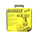 "DeWalt DW980 XPR 12V Cordless 1/2"" Compact Drill/Driver Kit w/ 2 Batteries, Charger and Case"