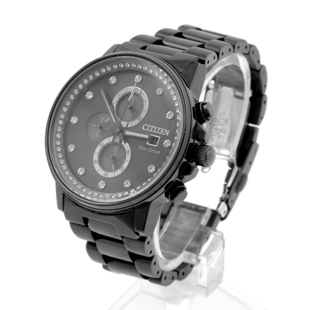 c97264681a0 Men s Citizen Eco-Drive NightHawk Black Chronograph Watch - B612-S092973.  7ad046deb493f5e12e64fba00080ab7d. 47186c9917a8fe233d7647fd13f94347