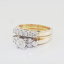 Breathtaking 1.04CTW Ladies Diamond Wedding Engagement14K Yellow Gold Ring