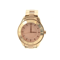 Ladies Armani Exchange AX Rose Gold-Tone Stainless Steel 40mm Watch - AX5160