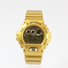 Men's Casio G-shock Gold-Tone 50mm Watch - DW-6900GD-9ER