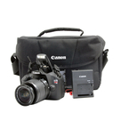 Canon EOS Rebel T5 DSLR Camera Kit w/ EF-S 18-55mm Lens, EF 75-300mm Lens