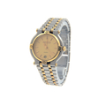 Ladies Gucci 9000L Two-Tone Stainless Steel & Yellow Gold Plate Date 25mm Watch