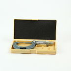 """Mitutoyo 111-166 Outside Spline Micrometer 0-1"""" x .0001"""" with Case"""