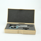 """Mitutoyo 114-163 V-Anvil Micrometer for 3 Flute Cutting Head: 0.05-0.6""""/0.001"""""""