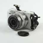 Sony Alpha a6000 Mirrorless Digital Camera w/ 16-50mm f/3.5-5.6 Zoom Lens White