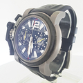 Rare Graham Chronofighter Titanium SAS Limited Night Camouflage Watch xx/200