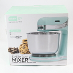 Dash DCSM250 Go Everyday Stand Mixer 6 Speeds - 250 Watts - 2.5‑Quart Bowl - New