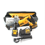 DeWalt Tool Kit - DCD985 Drill -  DCS380 Sawzall - DCB113 Charger - 2 Batteries