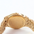 Ladies Wittnauer Gold-Plated Stainless Steel Diamond 25mm Watch - 12R11