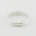 Tiffany & Co Eternity Diamond Band Ring 3.9mm
