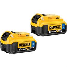 DeWalt DCB204BT-2 20-Volt MAX XR Li-Ion Battery Pack 4.0Ah w/ Bluetooth - NEW