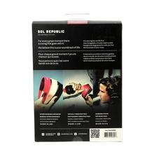 NEW Sol Republick Sound of Life Tracks V8 Headphone w/ Flex Headband - Red