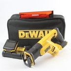 DeWalt DCS387 20V Reciprocating Saw Tool Kit w/ Battery Charger & Carrying Case