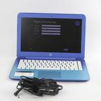 "HP Stream 13-C010NR Laptop 13.3"" - 2.16GHz - 2GB RAM - 32GB SSD - Win 8.1 - Blue"