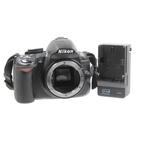 Nikon D3100 DSLR 14.2 MP Digital SLR Camera Body w/ Battery and Charger - Black