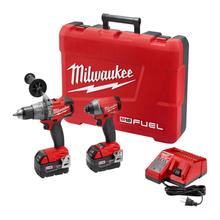 Milwaukee 2897-22 M18 FUEL Cordless Hammer Drill / Impact Driver Tool Kit - NEW