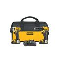DeWalt 20-Volt Max Li-Ion Compact Drill & Impact Driver Combo Kit DCK280C2 - NEW