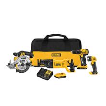DeWalt DCK423D2 Cordless 4-Tool Combo Kit - Circular Saw - Drill/Driver - NEW