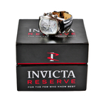 Men's Invicta 12618 Lupah Reserve Dragon 7750 Valjoux Black Alligator Band Watch