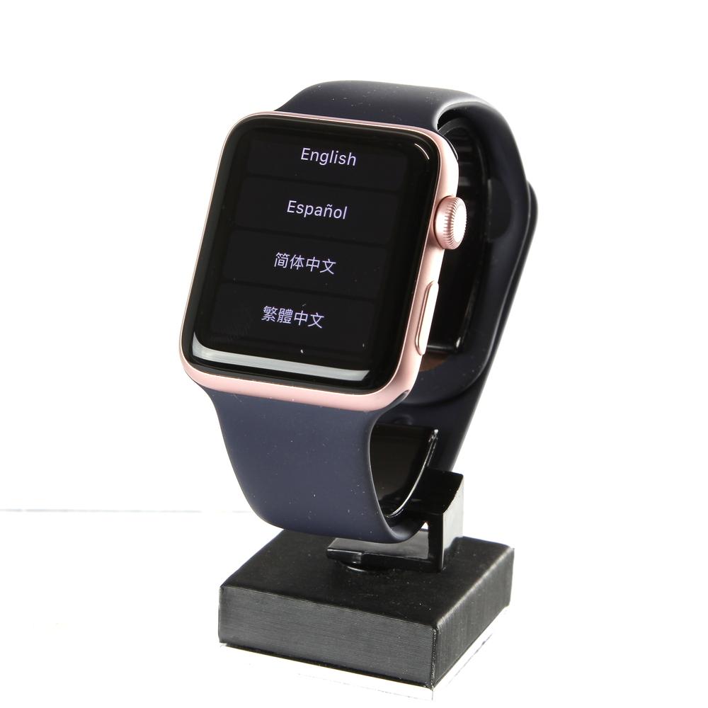 Apple watch 2 rose gold navy