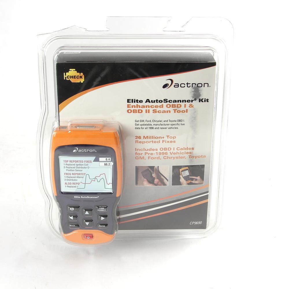 Actron Elite Auto Scanner Kit CP9690 Enhanced OBD I & OBD II Scan