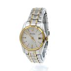Bulova Gold-Tone Stainless Steel Date 26mm Women's Watch - 98M105