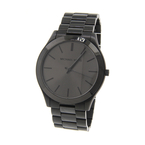 Michael Kors Slim Runway All Black Stainless Steel Men's Watch - MK-8507