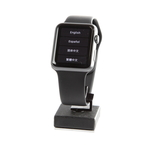 Apple Watch Sport 42mm Smartwatch Aluminum Case Black Band - A1554 - MJ3T2LL/A