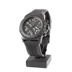 Bulova Marine Star 44mm Chronograph Black Dial Rubber Men's Watch - 98B223