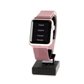 Apple Watch Smartwatch 38mm Silver Aluminum Case Pink Bracelet - A1553