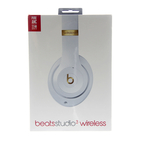 Beats by Dr. Dre Studio3 Wireless Over Ear Headphones White/Gold - Brand New