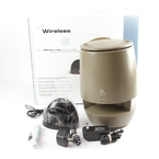 Acoustic Research AW822 900 MHz Indoor Outdoor Wireless Single Speaker - Brown