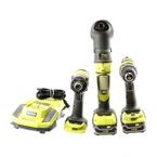 "Ryobi 18V ONE+ 1/4"" Drill Driver P208B | Impact Driver P236 | Multi-Tool P246"