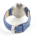Bulova Accutron II Moonview 42mm Blue Leather Band Men's Watch - Model 96B204