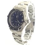 Mens Tag Heuer Professional Stainless Steel Blue Dial Watch